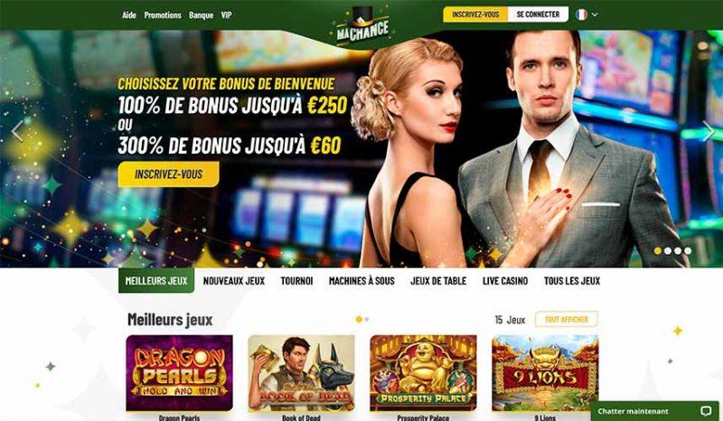 Accueil Casino Machance