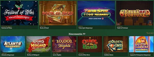 Jeux DublinBet Casino