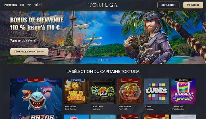 Accueil Tortuga Casino