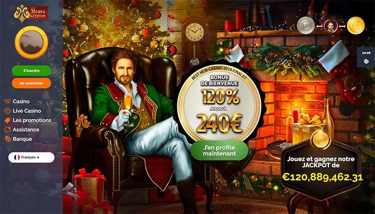 Compte Montecryptos Casino