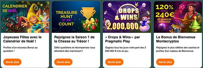 Bonus Montecryptos Casino
